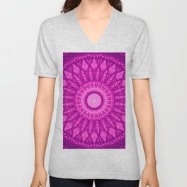 MANDALA NO. 34 #society6 Unisex V-Neck