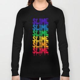 Rainbow SLIME Long Sleeve T-shirt