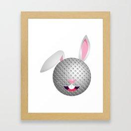 Cute Shirt For Golf Lover. Easter Gift Framed Art Print