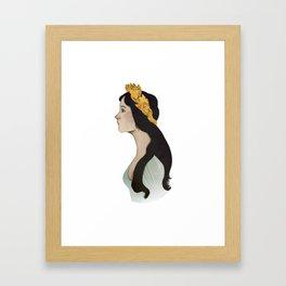 Laurel Girl Framed Art Print