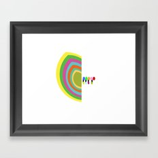 Half Hearted  Framed Art Print