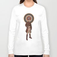captain Long Sleeve T-shirts featuring Captain by mycolour