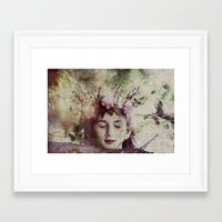 elf Framed Art Prints featuring Elf by Deborah Lehman
