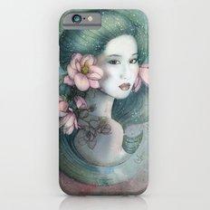 Magnolias in this dusk iPhone 6s Slim Case