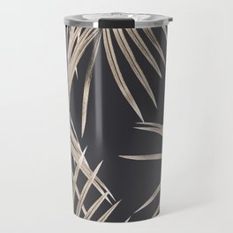 Sepia Palm Leaves Dream #1 #tropical #decor #art #society6 Travel Mug