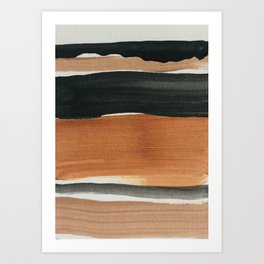 abstract minimal 12 Art Print