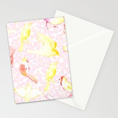 Yellow Birds Stationery Cards