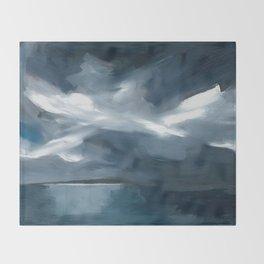 Lake Taupo, New Zealand Throw Blanket