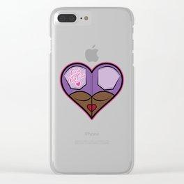Chub Rub Club (I) Clear iPhone Case