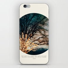 White Lights iPhone & iPod Skin