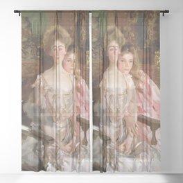 John Singer Sargent Mrs Fiske Warren Sheer Curtain