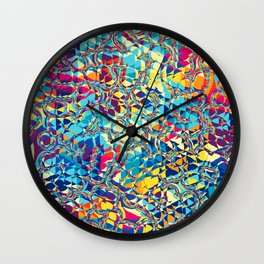 Pattern LIX Wall Clock