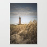lighthouse Canvas Prints featuring Lighthouse  by Maria Heyens