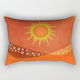 Color/Landscape 7 Rectangular Pillow