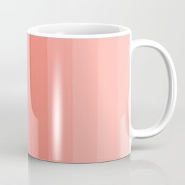 Shades of Living Coral From Hot Tomato Coral to Pale Blush Coffee Mug