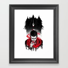 TW: First Blood Framed Art Print