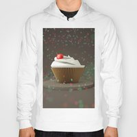 sprinkles Hoodies featuring Cupcakes & Sprinkles by Owaisj1