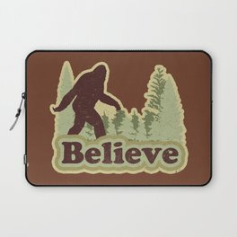 Bigfoot Believe Laptop Sleeve