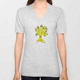 The Irie Tree Unisex V-Neck
