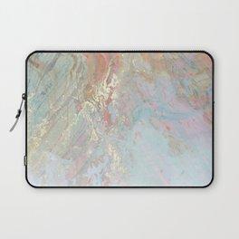 Pastel unicorn marble Laptop Sleeve