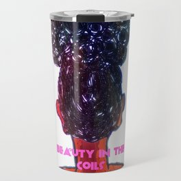 Beauty in the Coils Travel Mug