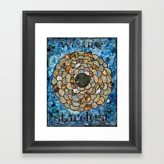 Stardust II Framed Art Print