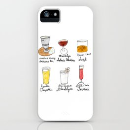 London in Cocktails iPhone Case