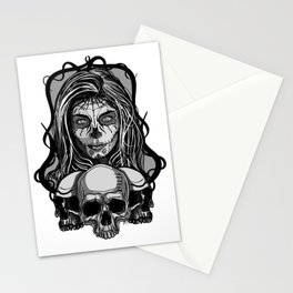 Mexican skull 2 Stationery Cards