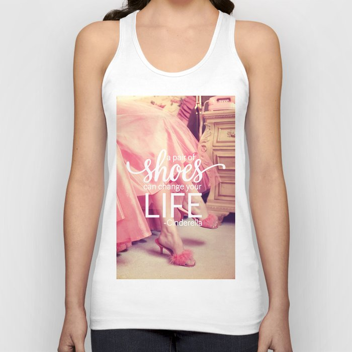 A Pair of Shoes Can Change Your Life Unisex Tanktop