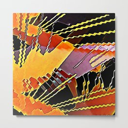 My Fission Electric Metal Print
