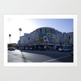 L.A AFTERNOON Art Print