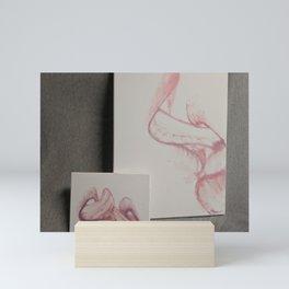 Erotic Tongues Mini Art Print