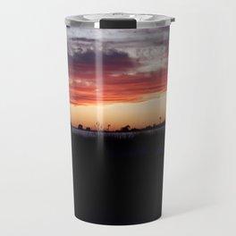 Southampton South Beach Sunset Travel Mug