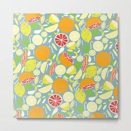 Citrus Zing Metal Print