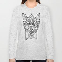 onyx piggy knight crest Long Sleeve T-shirt