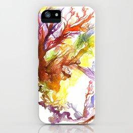 Volcanic Tango iPhone Case
