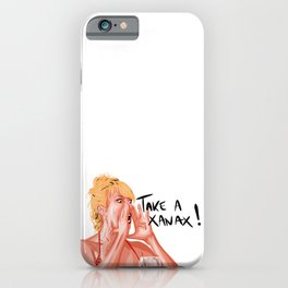 Ramona Singer - Real Housewives of NY - Take a Xanax, calm down ! iPhone Case