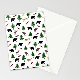 Moose Bear Stationery Cards