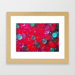 Bubblé Framed Art Print