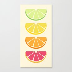 Half Citrus Canvas Print