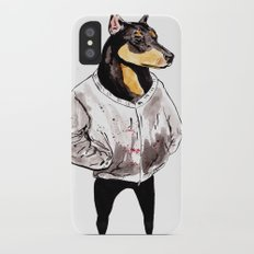 Bad Dog iPhone X Slim Case