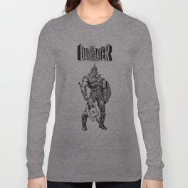 The Darkslayer, Black and White Long Sleeve T-shirt