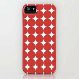 Midcentury Circles and Diamonds 5 iPhone Case
