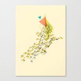 Triangled 01 Canvas Print