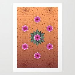 Blooming Desert Art Print