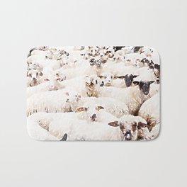 The Herd #watercolor #wildlife Bath Mat