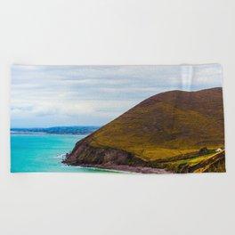 Hidden Cove House Beach Towel