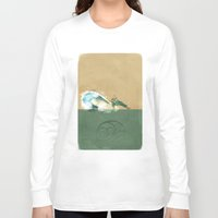 avatar the last airbender Long Sleeve T-shirts featuring Avatar Korra by daniel
