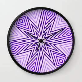 Op Art 163 Wall Clock