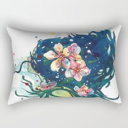 Beach Goddess Rectangular Pillow